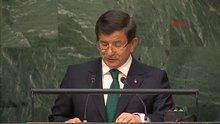 Ahmet Davutoğlu, BM Genel Kurulu'nda konuştu
