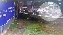 Kartal'daki kaza anı kamerada