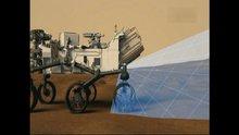 Mars'ta meraklı robot