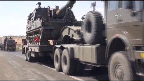 Doğuya askeri sevkiyat sürüyor