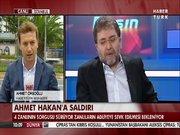 Ahmet Hakan'a saldırı
