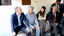 Bakan Kılıç, selde zarar gören vatandaşları ziyaret etti