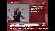 Kemal Kılıçdaroğlu Mersin'de konuştu - 1. Bölüm