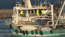Davutoğu, Samsun'da denize açıldı
