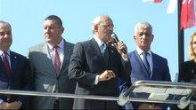 Kılıçdaroğlu Zonguldak'ta konuştu