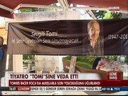 Tiyatro sanatçısı Tomris İncer son yolculuğuna uğurlandı