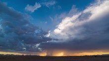 Mason rüzgarlarının oluşturduğu harika görüntüler