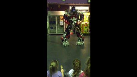 Transformers gangnam star