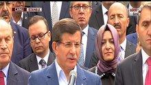 Davutoğlu: Rusya'nın Türk hava sahasını ihlaline değindi
