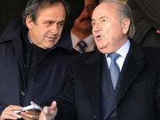 Blatter ve Platini'ye şok ceza