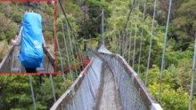 Köprü böyle çöktü