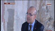 Mehmet Şimşek Habertürk TV'de 2