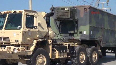 ABD, Gaziantep'teki patriotları taşımaya başladı