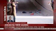 Ak Parti Sözcüsü Ömer Çelik patlamaya ilişkin açıklama