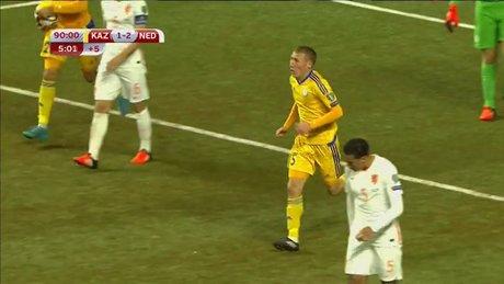 Kazakların golü 90'da geldi