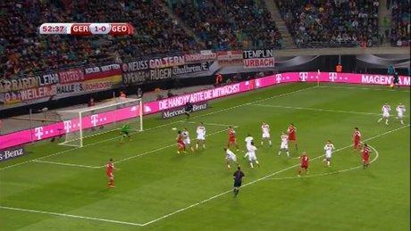 Gürcistan'dan sürpriz gol