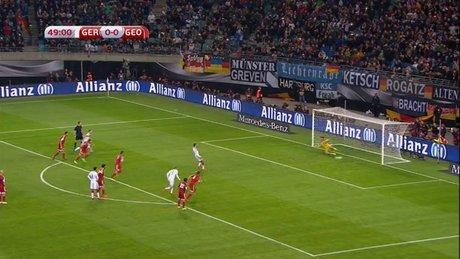 Almanya, Müller'le öne geçti
