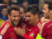 İspanya deplasmanda öne geçti