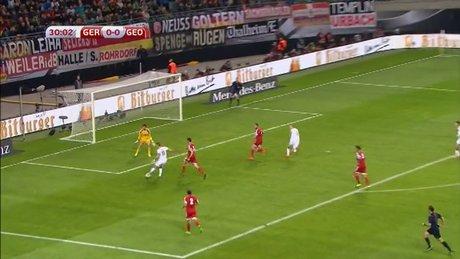 Almanya: 2 - Gürcistan: 1