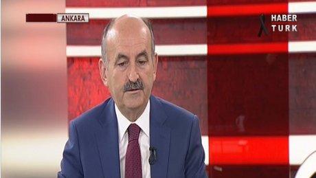 Bakanı Mehmet Müezzinoğlu, Habertürk TV'de 1