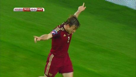Rusya - Karadağ : 2 - 0