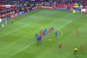 İşte Türkiye'yi Fransa'ya taşıyan gol!