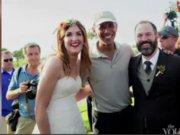 Obama düğüne daldı