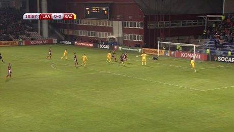 Letonya - Kazakistan : 0 - 1