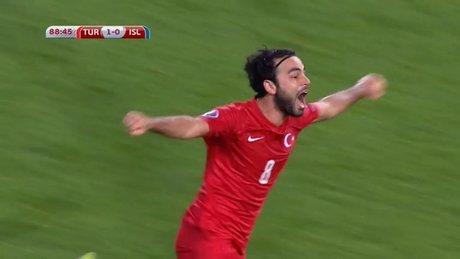 Türkiye - İzlanda : 1 - 0