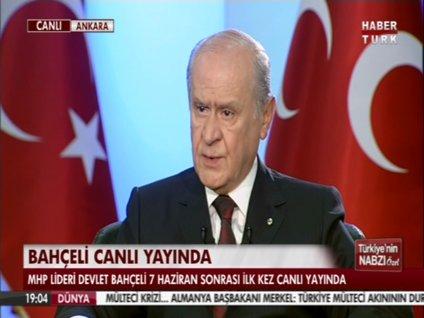 DEVLET BAHÇELİ HABERTÜRK TV'DE - 1. BÖLÜM