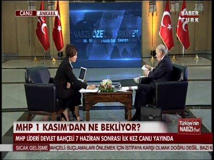 DEVLET BAHÇELİ HABERTÜRK TV'DE - 6. BÖLÜM