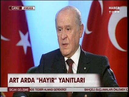 DEVLET BAHÇELİ HABERTÜRK TV'DE - 3. BÖLÜM