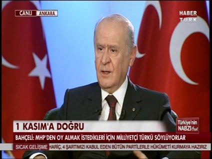 DEVLET BAHÇELİ HABERTÜRK TV'DE - 7. BÖLÜM