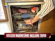 Bulaşık makinesinde yemek