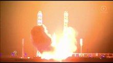 Türksat 4B uydusunun fırlatılma anı