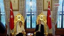 Merkel İstanbul'daydı
