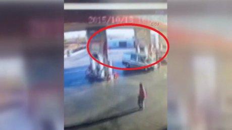 Feci kazanın güvenlik kamerası görüntüleri ortaya çıktı