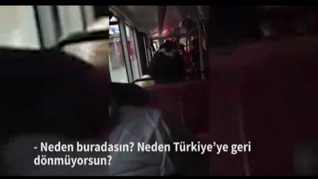 Türkçe konuştuğu için saldırıya uğradı