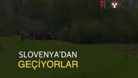 Slovenya'ya 24 saatte 13 bin sığınmacı girdi