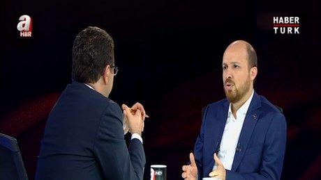 Bilal Erdoğan canlı yayına katıldı