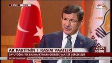 Ahmet Davutoğlu, HABERTÜRK - SHOW TV ortak yayınında - 5.Bölüm