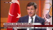 Ahmet Davutoğlu, HABERTÜRK - SHOW TV ortak yayınında - 3.Bölüm