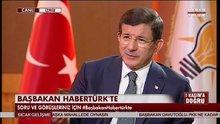 Ahmet Davutoğlu, HABERTÜRK - SHOW TV ortak yayınında - 4.Bölüm
