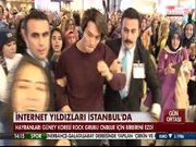 İnternet yıldızları İstanbul'da