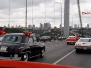 """Köprüde """"Her Yerde Cumhuriyet, Her Yerde Barış"""" konvoyu"""