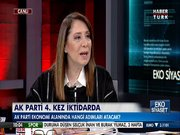 Emine Nur Günay Habertürk TV'de 1.bölüm
