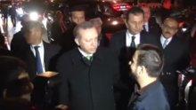 Cumhurbaşkanı, Tarabya'da vatandaşlarla sohbet etti