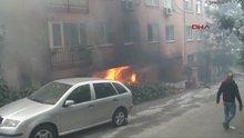 Maltepe'de yangın