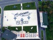 Hava Harp Okulu öğrencilerinin Atatürk'ün imzası