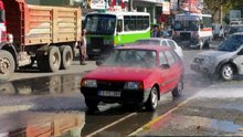 Su patlağı vatandaşa yaradı